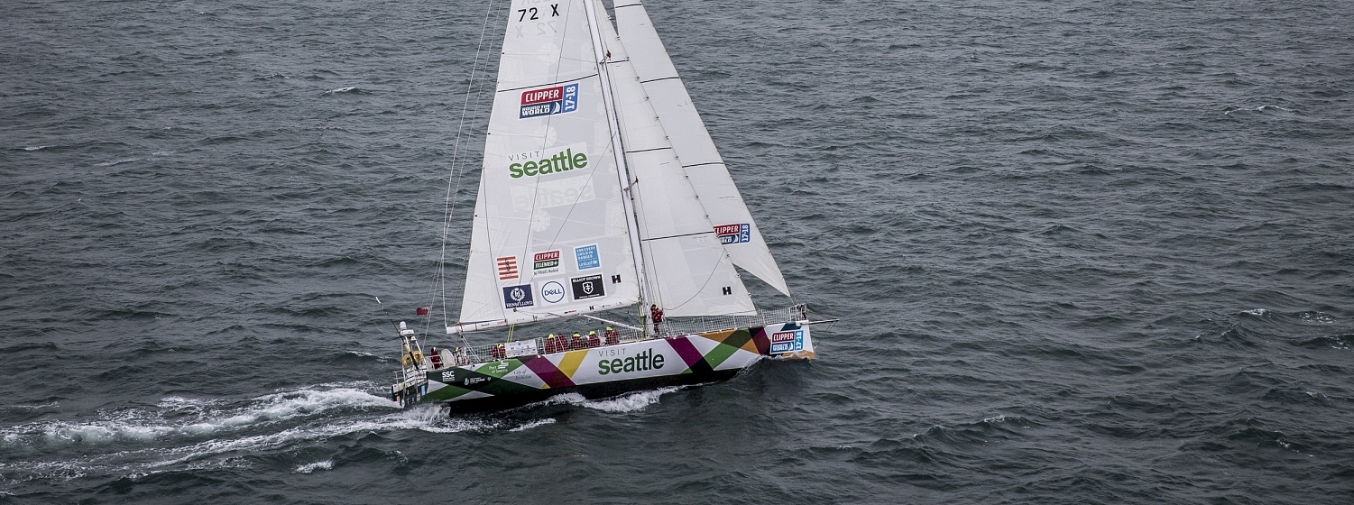 Race 9 Day 1: Qingdao to Seattle