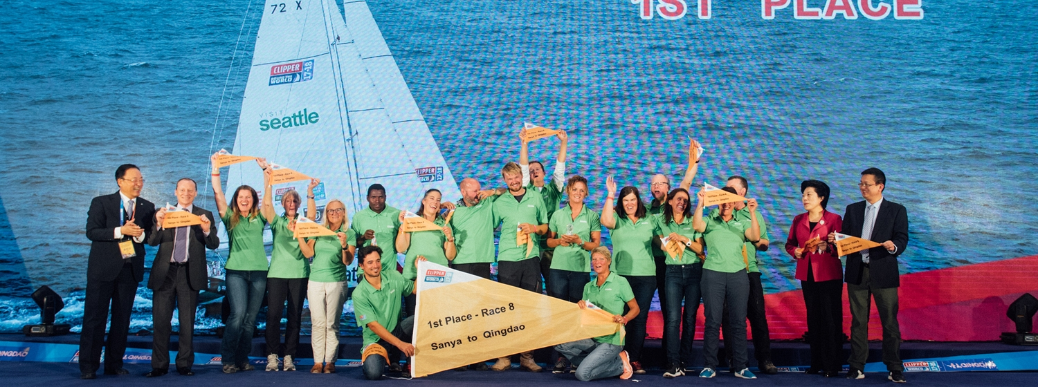 Race 8: The Sailing City Qingdao Cup Prize Giving