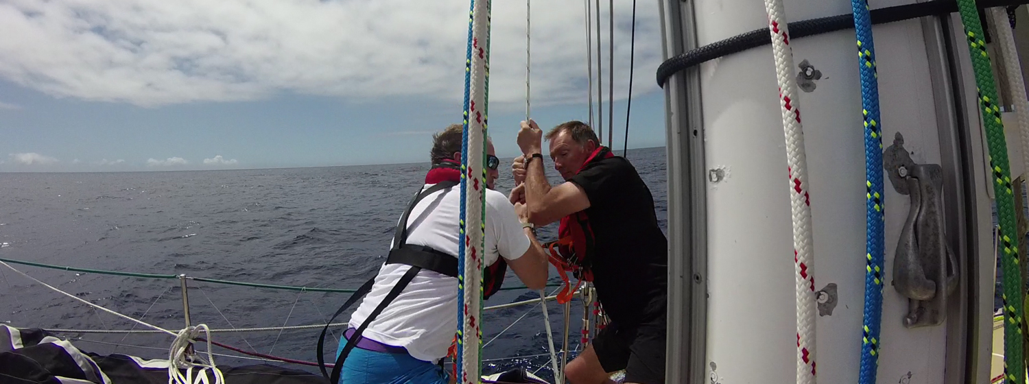 ​Race 1 Day 16: Crews grapple with unsettled conditions and routing tactics