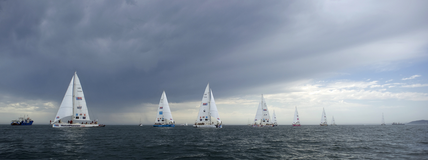 Race start in Cape Town