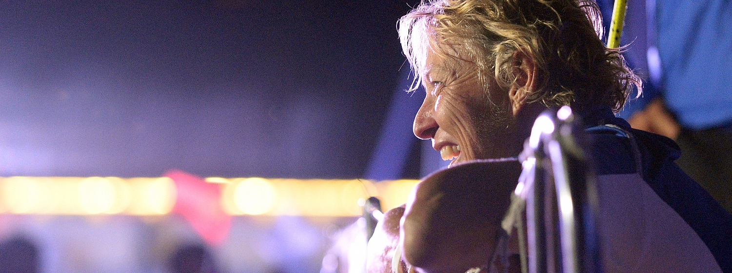 Wendy Tuck made the history books when she became the first female skipper to win a round the world yacht race